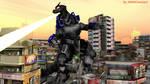 MMD Godzilla Newcomer - MechaGodzilla3 2.0 +DL+