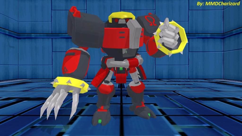 MMD Sonic Newcomer - E-123 Omega (Sonic 06)  DL  by MMDCharizard ...