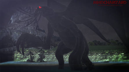 MMD - The Dark One, Cthulhu by MMDCharizard