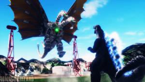 MMD Godzilla - Mechanized Death by MMDCharizard
