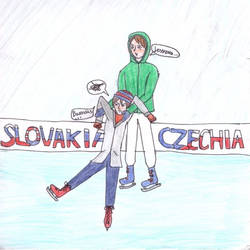 Ice skating is difficult...