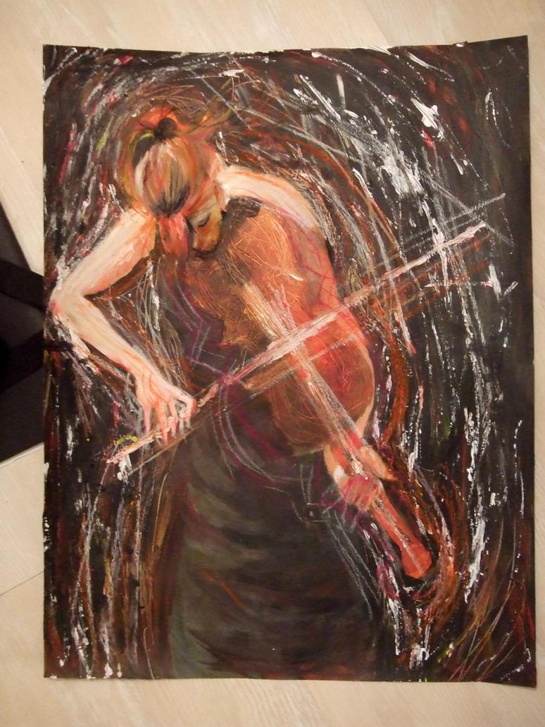 Violonist by Kurobanii