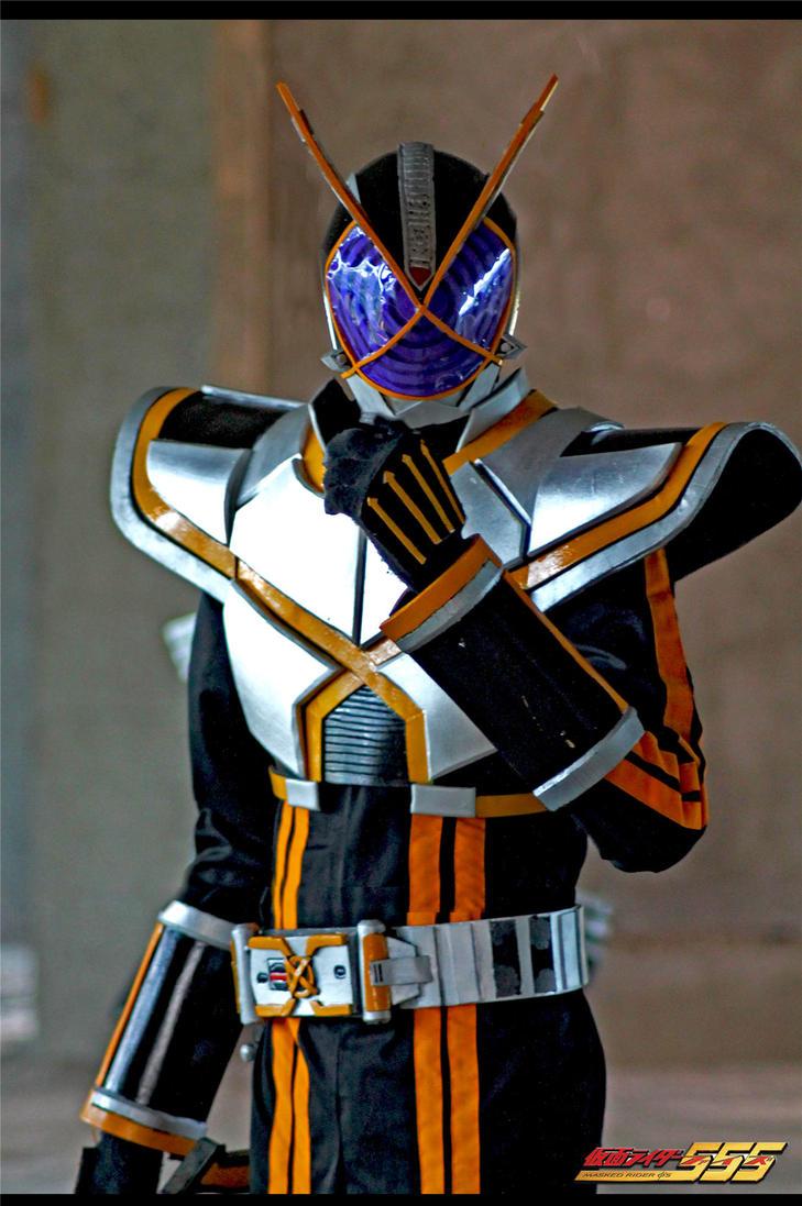 Cosplay Kamen Rider Kaixa by maysatria
