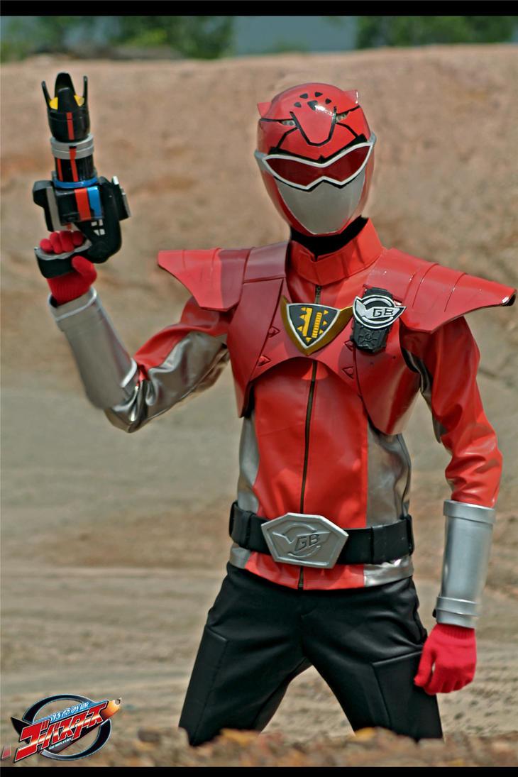 Red Busters - Tokumei Sentai Gobuster by maysatria