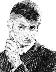 David Tennant Dot Stippling by Aether176
