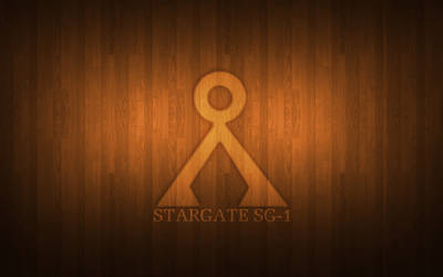 Stargate SG-1 Wooden Wallpaper by Aether176