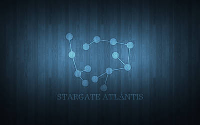 Stargate Atlantis Wooden Wallpaper by Aether176