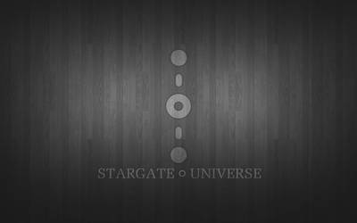 Stargate Universe Wooden Wallpaper by Aether176