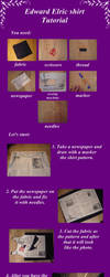 Edward Elric shirt TUTORIAL by Yume-Hassei