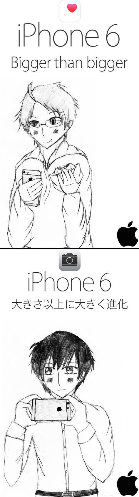 APH x Apple: iPhone 6 Posters by hiroyukibenjamin