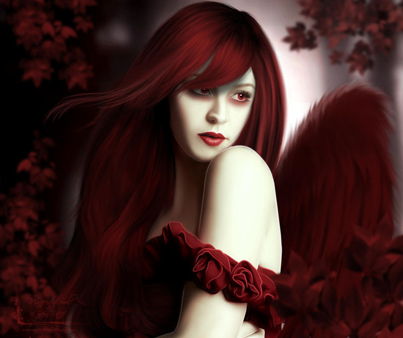 Scarlet Angel by ManifestedSoul