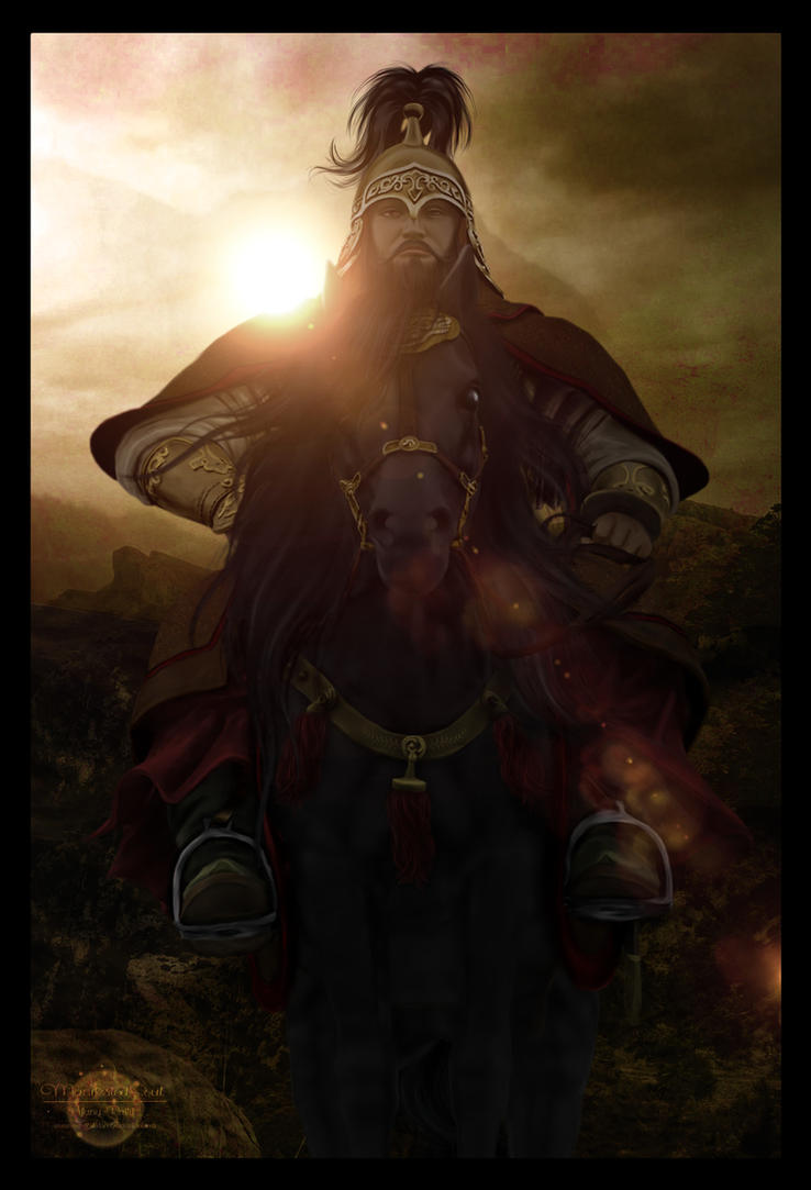 Pages In History - The Great Khan by ManifestedSoul