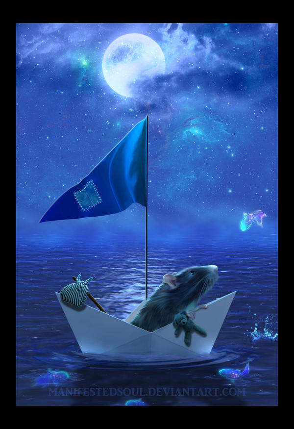 Voyage on the Sea of Dreams by ManifestedSoul