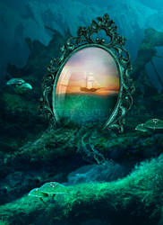 The Dreamscapes Mirror by ManifestedSoul