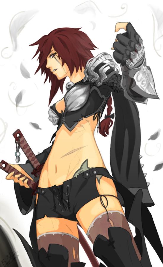 Blade Mistress by AimlessOrange
