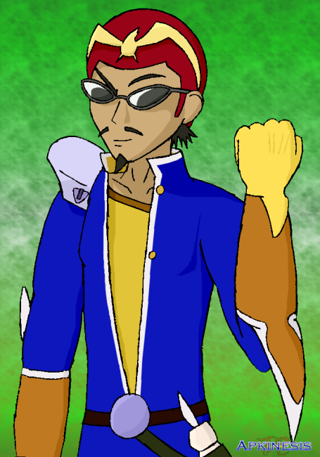 SSBA: Harima as Capt Falcon by Apkinesis
