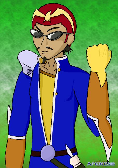 SSBA: Harima as Capt Falcon by Apkinesis