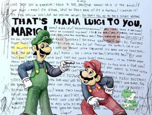 Angus's Mama Luigi in Color