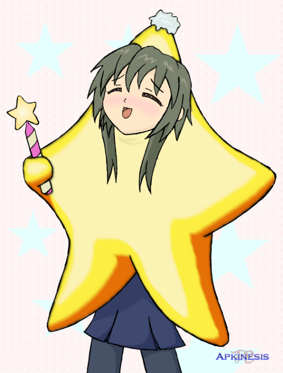 SSBA: Fuko Ibuki as Starfy by Apkinesis