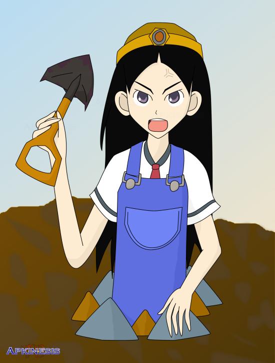 SSBA: Chiri Kitsu as Resetti by Apkinesis