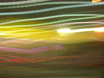 Trippy Light Show by UberLizzard