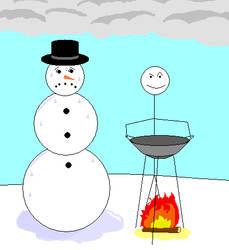 Wok-in in a Winter Wonderland by UberLizzard