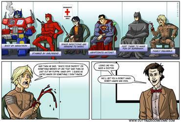 Hero Hospital by CuttingRoom
