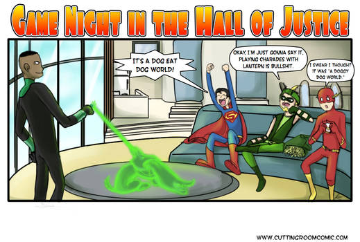 Game Night in the Hall of Justice