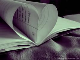 book heart by TakPoprostuu