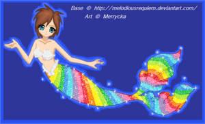 Rainbow Mermaid - base used