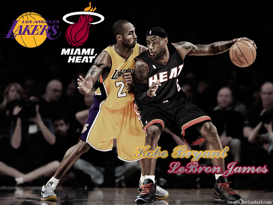 Kobe and lebron wallpaper by iw nst on deviantart kobe and lebron wallpaper by iw nst voltagebd Choice Image