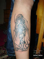 tattoo warrior by twinkletattoos
