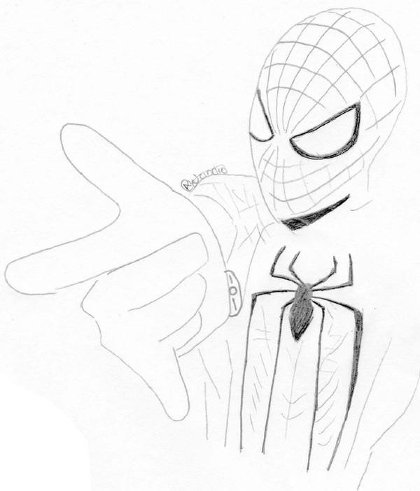 spiderman sketches by stan lee