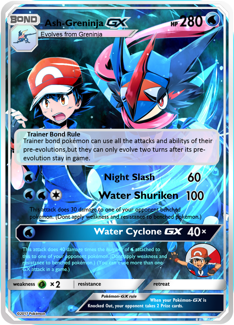 pokemon greninja card coloring pages-#12