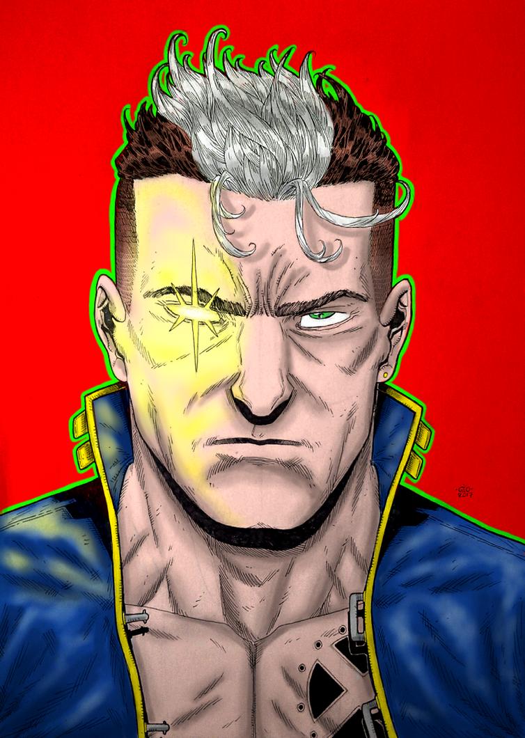 Nate Grey aka X-Man by GiorgosKollias