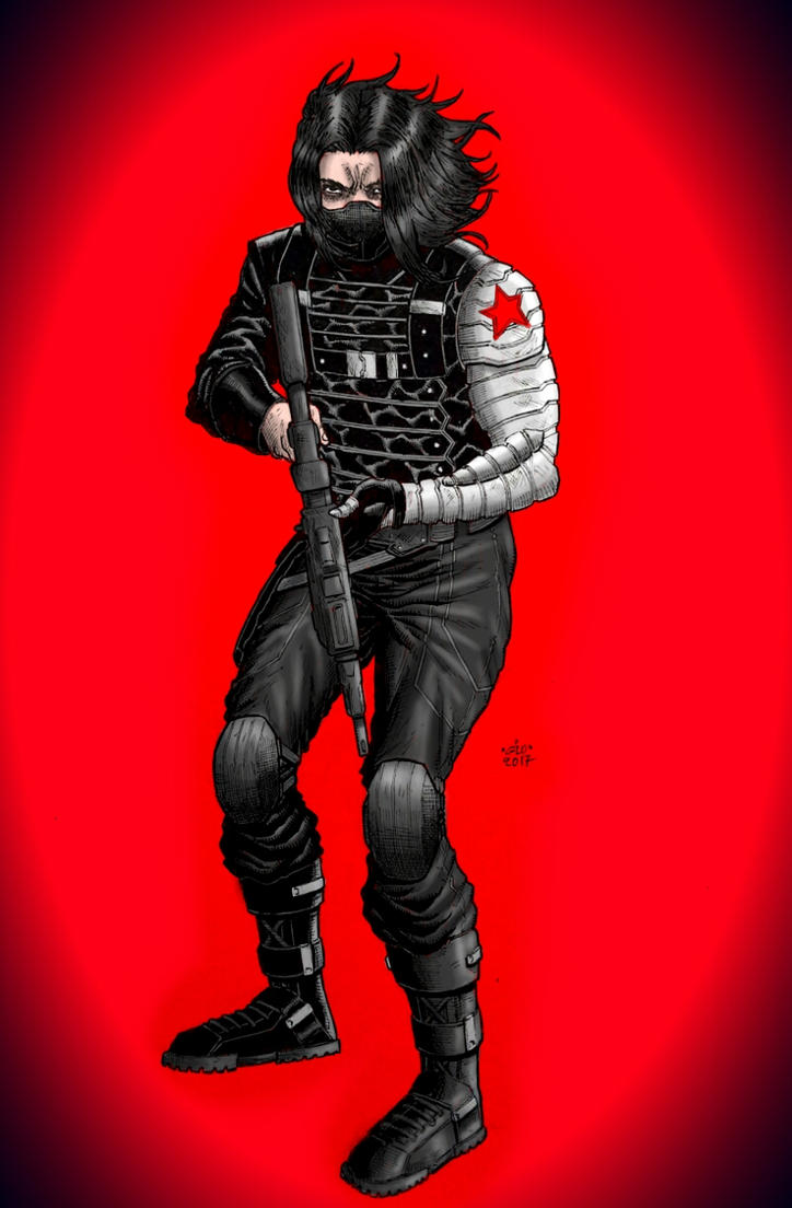 Winter Soldier by GiorgosKollias