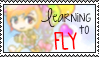 learning to fly by bunniicake