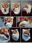 Wolf/Husky head: SOLD