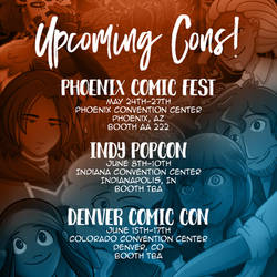 Upcoming Conventions!!!