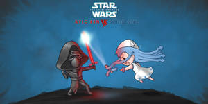 Kylo Ren Vs Squid Girl