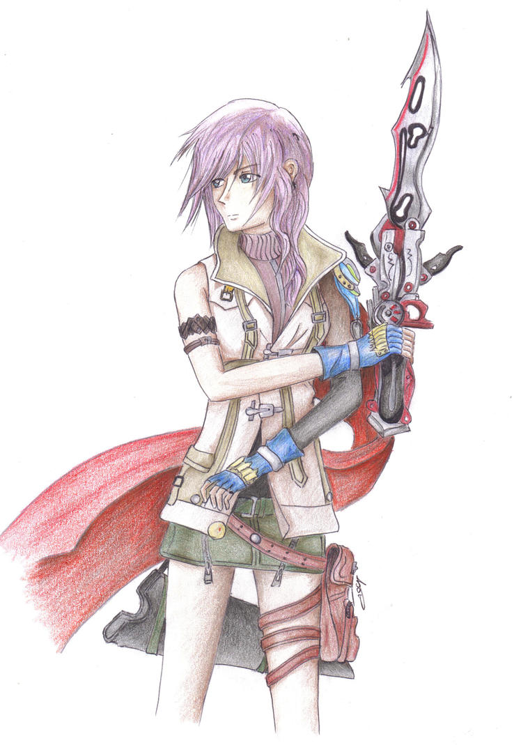 Lightning Farron by ElvishShadowArcher