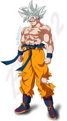Goku(Ultra instinct)(shintani style) by Black-X12