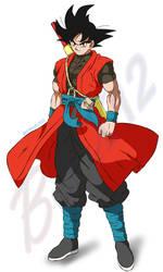 Goku Xeno(shintani style) by Black-X12