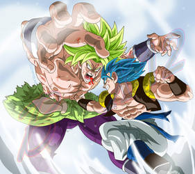 The strongest vs the strongest!! by Black-X12