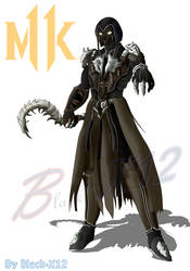 Noob saibot(MK 11) by Black-X12