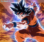 Goku Ultra Instinct (anime coloring)