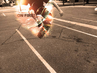 Sk8 Time - On Fire by Scottehs