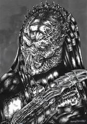 Predator Wolf Bust #1