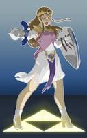 Princess Zelda Takes a Stand 2 by DanielHooker