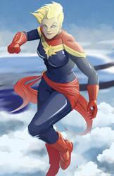 Ms Marvel by DanielHooker